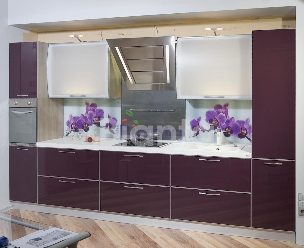 фото кухни фиолетового цвета: